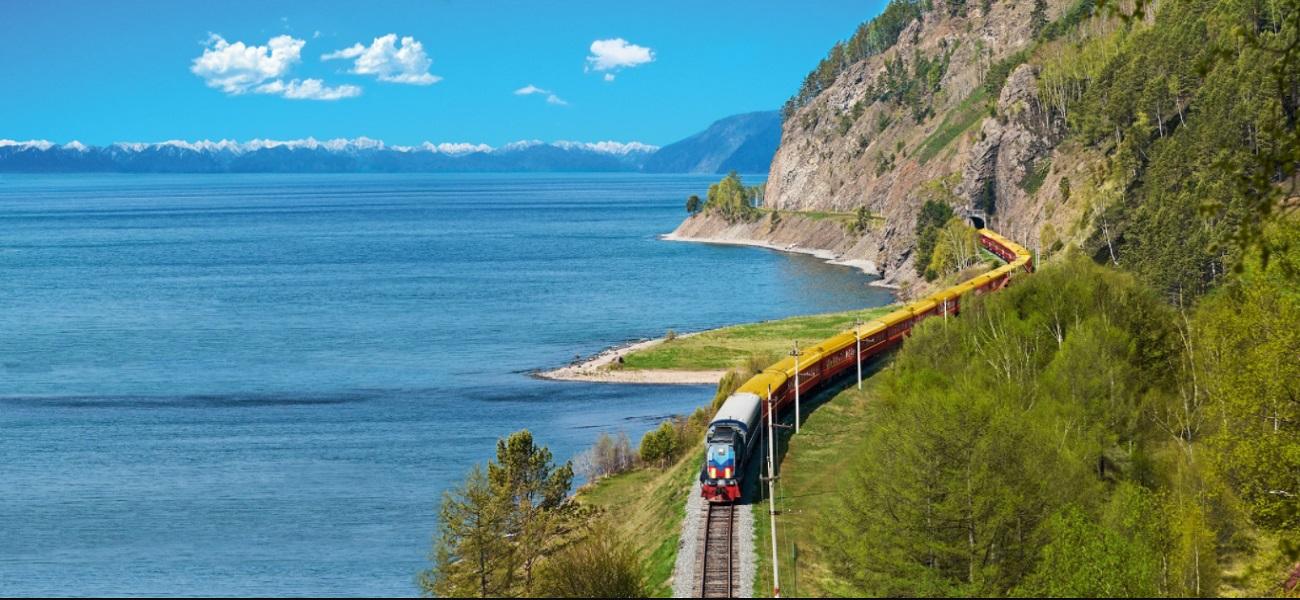 Train Or des Tsars au bord du Baïkal